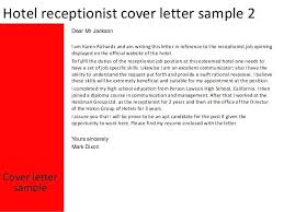 Sample Cover Letter For Receptionist With No Experience