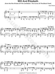 Download sheet music for pirates of the caribbean. Will And Elizabeth From Pirates Of The Caribbean The Curse Of The Black Pearl Sheet Music Piano Solo In D Minor Transposable Download Print Will And Elizabeth Pirates Of