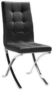 best  black leather dining chairs ideas on pinterest  dining