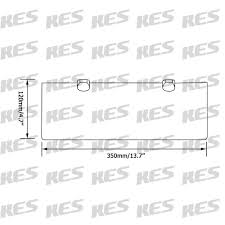 bathroom tempered glass shelf: kes  inch bathroom tempered glass shelf mm thick wall mount rectangular brushed