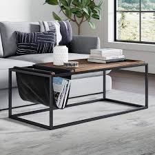 51 rectangle coffee tables that stand
