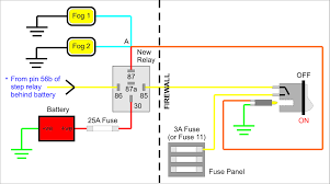 Wiring Fog Lamp Diagram Data Schematic Diagram
