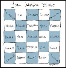 buzzword bingo generator yoga jargon bingo jbyrd yoga journal