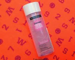 about maybelline total clean express eye lip makeup remover