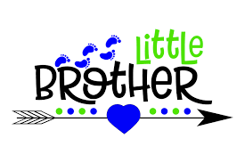 Little Brother Graphic By Mybest Design Creative Fabrica