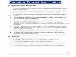 help desk service level agreement template itil service level agreement template youtube