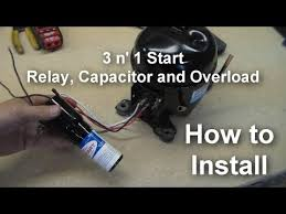 refrigerator relay wiring diagram gugusdepan pramuka this is a video showing you how to install a 3 in 1 start relay these are a universal set of relays you can use in place of the factory relays installed