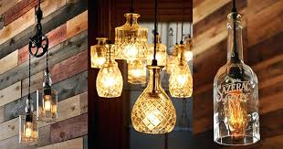 full size of whiskey bottle lighting project diy hanging lights for dining room charming ideas the