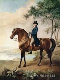warren hastings george stubbs oil painting horse handmade high quality