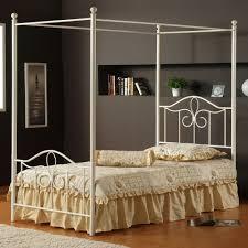 metal bedroom sets. hillsdale westfield 4 piece metal canopy bedroom set in white sets