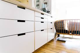 Ikea kitchen cabinets hacked with plywood by new pany Plykea