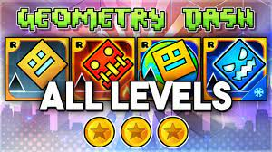 ALL LEVELS | Geometry Dash 2.11 + Meltdown + World + SubZero (All Coins)