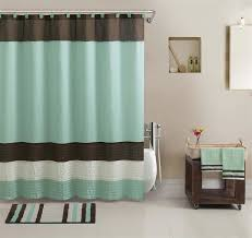 splendid shower curtains and rugs ideas with blue waters bath set 5 piece coastal nautical decor