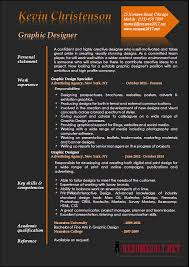 Graphic Design Resume Resume Cv Cover Letter