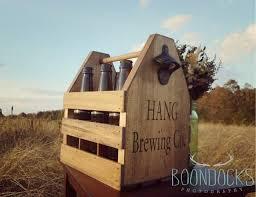 custom beer caddy beer carrier groomsmen gift beer crate tailgating beer holder 6 pack beer carrier bottle opener fathers day gift 2279138 weddbook