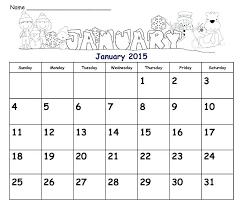 Empty Calendar Template 2015 Year Calendar Template 2015 Reshaper Me