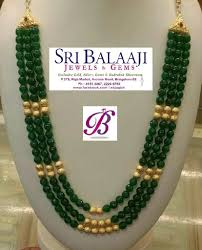 Crystal Beads Necklace Designs In Gold Pin By Chinnakrovi Chinna On Gold Bangles In 2020 Jewelry