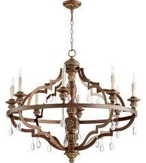quorum 645839 venice 8 light 37 inch vintage copper chandelier ceiling copper chandelier lighting t82