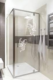 appealing bathroom shower door stickers superior glass door decal erfly art home door glass bathroom glass