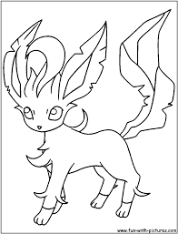Small Picture Coloring Pages Eevee