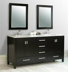 modern black wooden bathroom vanities