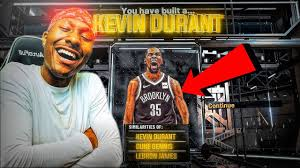 My Llu Chart Kevin Durant Build On Nba 2k20 Is A Demigod Best Build Nba 2k20 Demigod Build 2k20 Best Sf Build