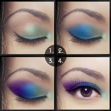 traditional or simple pea eye makeup