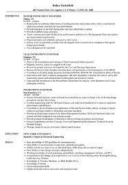 Engineering Resume Examples Instrument Engineer Resume Examples Sample Templates Samples 35