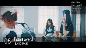 Oricon Chart 2018 Oricon Chart Weekly Jrock Ranking 06 08 2018 Oricon Jpop