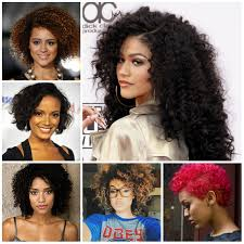 black curly hairstyles 2017