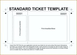 Lunch Ticket Template Cool Entry Ticket Template Blank Meal Ticket Template Entry Ticket