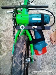 diy electric bike using a cordless drill battery not all rednecks live back in the holler redneck life electric bike
