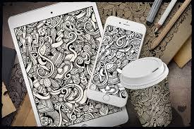 Doodle Patterns Amazing 48 Doodle Patterns Backgrounds Free Premium Templates