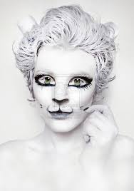 skeleton cat makeup google search