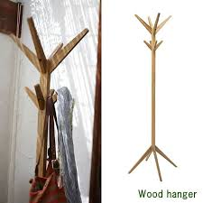 Solid Wood Coat Rack atomstyle Rakuten Global Market Coat hanger Nordic wood stylish 82