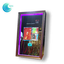 diy al ping mall digital automatic selfie mirror photo booth for events images