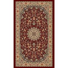 balta us classical manor red 2 ft x 3 ft area rug