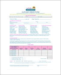 Cupcake Order Form Sample Cupcake Order Form 100 Examples in Word PDF 2
