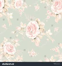 Watercolor seamless pattern roses in bud Q. Beautiful pattern for  decoration and design. Trendy