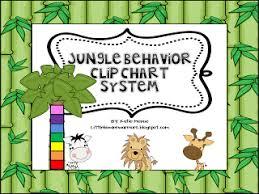 Jungle Theme Clip Chart Behavior Catalog Freebie Little