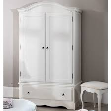 ebay uk bedroom furniture wardrobes. romance shabby chic white double wardrobe / 1 drawer 2 door ebay uk bedroom furniture wardrobes