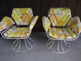 homecrest metal swivel patio chairs