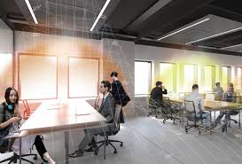 lighting office. Flagship Office With IoT Lighting Opens In Italy