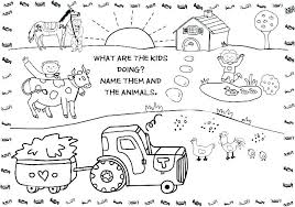 Farm Coloring Pages Pdf Free Coloring Pages Of Animals Free Coloring