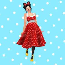 The Sims 4 I Create a Sim I Minnie Mouse 🐭 - YouTube