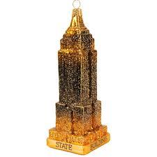 Weihnachtskugel Empire State Building