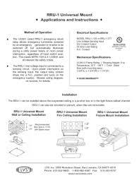 epc d instructions manufacturer ul924 relay instruction sheet