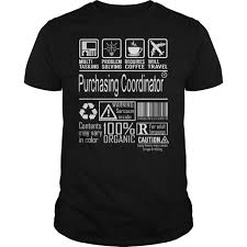 Awesome Purchasing Coordinator T Shirt Hoodie Purchasing