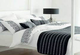 black and white twin duvet covers