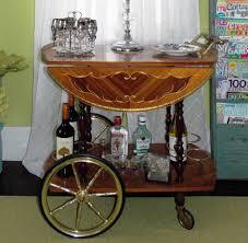 antique bar cart. Sorrento Mid-century Modern Bar Cart Marquetry Antique
